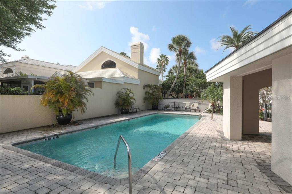 Community Pool - Single Family Home for sale at 7728 Club Ln, Sarasota, FL 34238 - MLS Number is A4428061