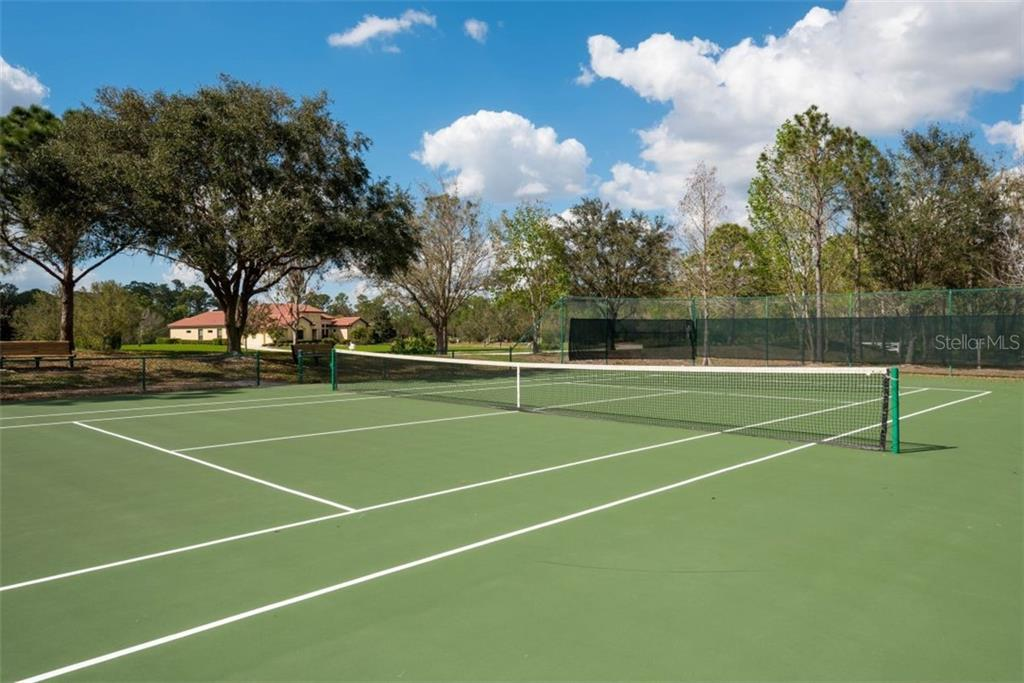 The Preserve has tennis courts, park equipment for the children, and hiking trails. - Vacant Land for sale at 22510 Morning Glory Cir, Bradenton, FL 34202 - MLS Number is A4430942