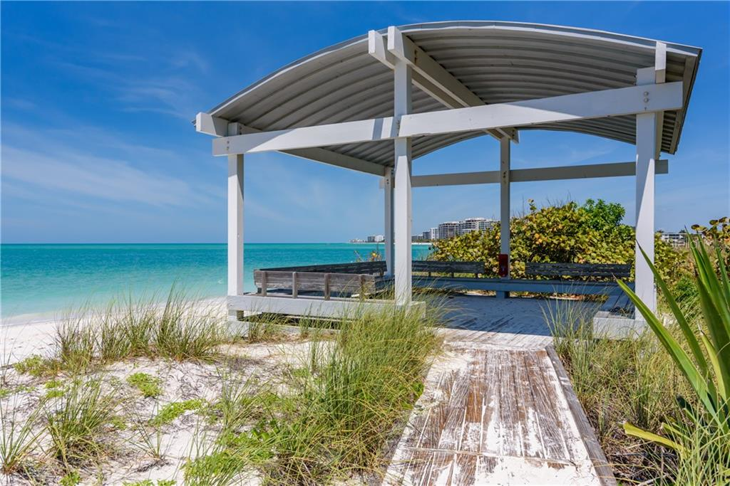 Lido Shores Deeded Beach Access with Pavilion - Single Family Home for sale at 1199 Westway Dr, Sarasota, FL 34236 - MLS Number is A4433494
