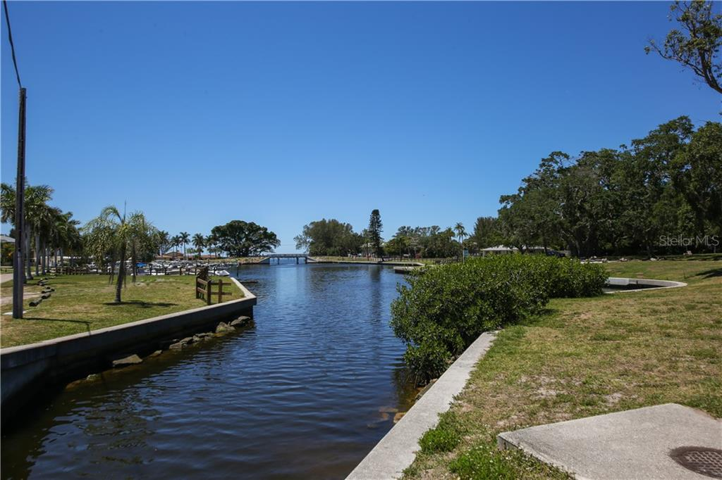 Palma Sola Boat Basin, one block from house - Single Family Home for sale at 7611 Alhambra Dr, Bradenton, FL 34209 - MLS Number is A4434753
