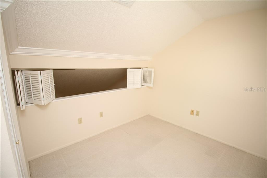 Upstairs Bedroom 3 - Townhouse for sale at 4319 Woodmans Chart #130, Sarasota, FL 34235 - MLS Number is A4445530
