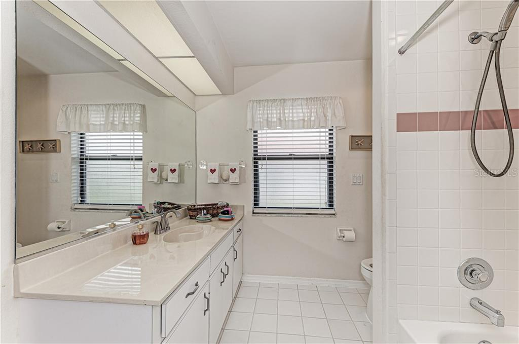 Guest Bathroom - Single Family Home for sale at 2980 Heather Bow, Sarasota, FL 34235 - MLS Number is A4450964