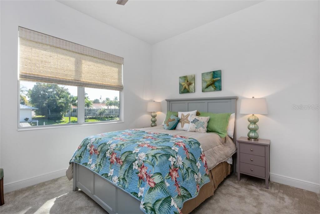 Guest Bedroom #1 - Single Family Home for sale at 560 Wedge Ln, Longboat Key, FL 34228 - MLS Number is A4452288
