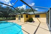 Enough patio space to enjoy family and friends. - Single Family Home for sale at 2045 Frederick Dr, Venice, FL 34292 - MLS Number is A4416740