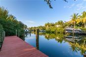 Canal 2 mins to Bay and no bridges.  Sailboat at dock 2 houses away - Single Family Home for sale at 5303 Hidden Harbor Rd, Sarasota, FL 34242 - MLS Number is A4421223