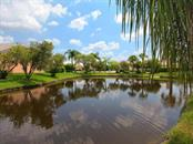 Beautiful view of just beyond the pool... - Single Family Home for sale at 4117 Via Mirada, Sarasota, FL 34238 - MLS Number is A4438764
