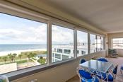 Northern view from balcony of Unit 408 - Condo for sale at 6140 Midnight Pass Rd #408, Sarasota, FL 34242 - MLS Number is A4442616