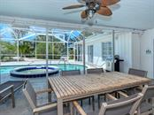 Covered Lanai - Pool & Spa - Single Family Home for sale at 225 John Ringling Blvd, Sarasota, FL 34236 - MLS Number is A4443640