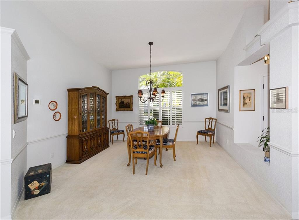 Dining room - Single Family Home for sale at 515 Park Estates Sq, Venice, FL 34293 - MLS Number is N6103193