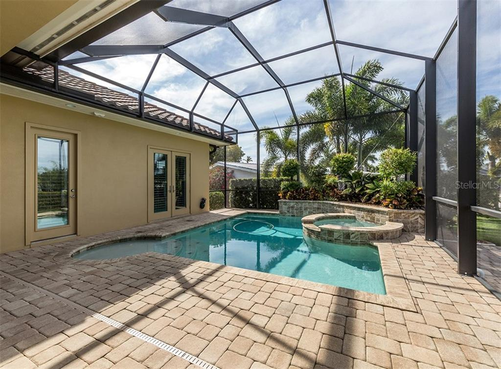 Heated pool and spa. - Single Family Home for sale at 1980 W Marion Ave, Punta Gorda, FL 33950 - MLS Number is N6104995