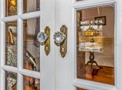 Original Glass door knobs and French Doors - Single Family Home for sale at 309 Sorrento St, Venice, FL 34285 - MLS Number is N6104116