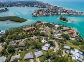 Aerial of Bays, Snake Island, Jetty and ICW - Vacant Land for sale at 514 Bayview Pkwy, Nokomis, FL 34275 - MLS Number is N6105066